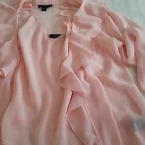 Blush jacket and camo